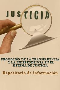 Promoción de la transparencia-Justicia Viva
